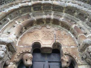 Pórtico da Igrexa románica de Sestelo, en Silleda / Xurxo Salgado