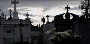 Cemiterio de Saavedra, onde se atopa a imaxe da Virxe dos Milagres / Óscar Dacosta