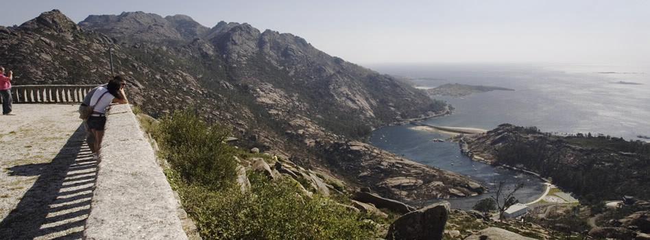 Monte Pindo desde o miradoiro do Ézaro / turismodegalicia.gal
