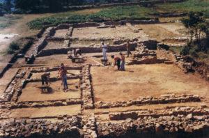 Unhas das primeiras escavacións de Cidadela / flickr-Sindo Mosteiro