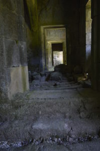 Interior do Pazo de Guimarei, na Estrada / Iria Blanco