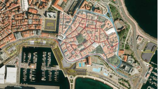 Como protexer a muralla defensiva da Coruña ou a antiga cadea da Audiencia Provincial do Reino de Galicia