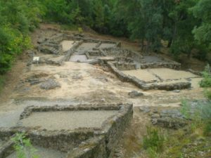 Restos musealizados do conxunto arqueolóxico de Santomé, en Ourense / visitargalicia.com
