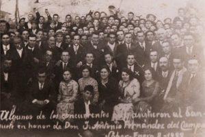 A familia Fernández-Rivero de Sober nunha homenaxe / https://sober1936.wordpress.com