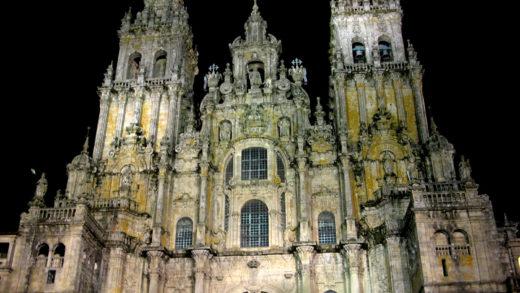 O traslado do Apóstolo Santiago desde Xerusalén a Galicia contada en inglés