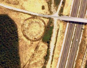 Estrutura circular da Roda, en Barreiros / www.galiciaconfidencial.com