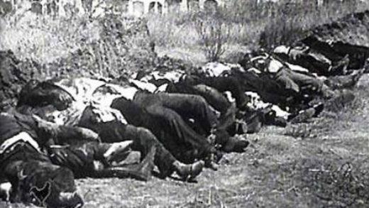Lembran aos asasinados polos fascistas en Mondoñedo 80 anos despois