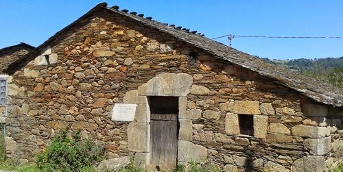 Casa do pai de Fidel Castro, en Láncara, Lugo