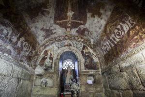 Pinturas do século XVI de Santa Comba de Bande / turismo.gal