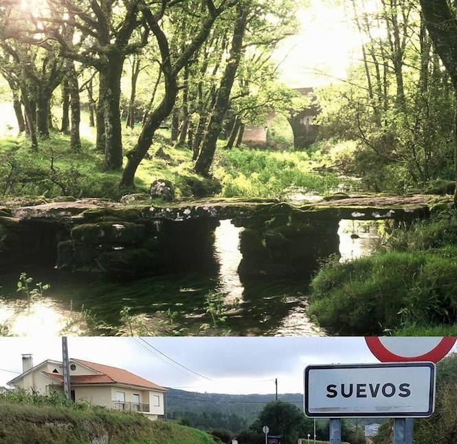 Ponte no lugar de Suevos, en Mazaricos
