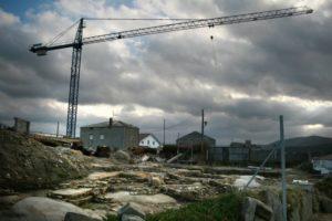 Castro da Atalaia, en San Cibrao, destrozado por unha urbanización / vieiros
