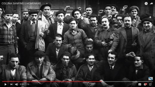 Os mineiros de San Fins, a toma da Coruña e a valerosa loita do Batallón Galicia