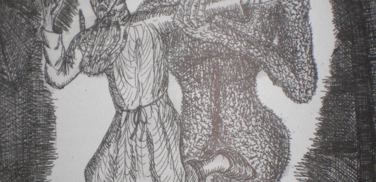 Ilustración do demo Idade Media / Torres, Varas e demos. Os irmandiños na ría de Muros-Noia. Carlos Barros. Con ilustracións de Manuel Mariño Reino. Toxosoutos. S.L.