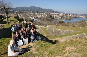 Encontro entre docentes e estudantes galegos e portugueses dentro do proxecto Ponte nas Ondas / flickr Ponte nas Ondas