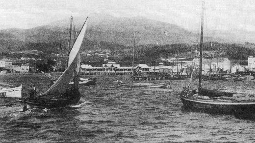 Combarro, o gran escaparate das embarcacións tradicionais