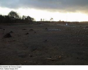 Outro probable henge atopado en Coeses, Lugo / XaBier Moure