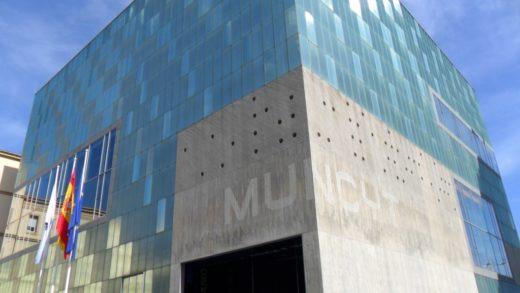 Manifestación para denunciar o peche de museos no Día dos Museos
