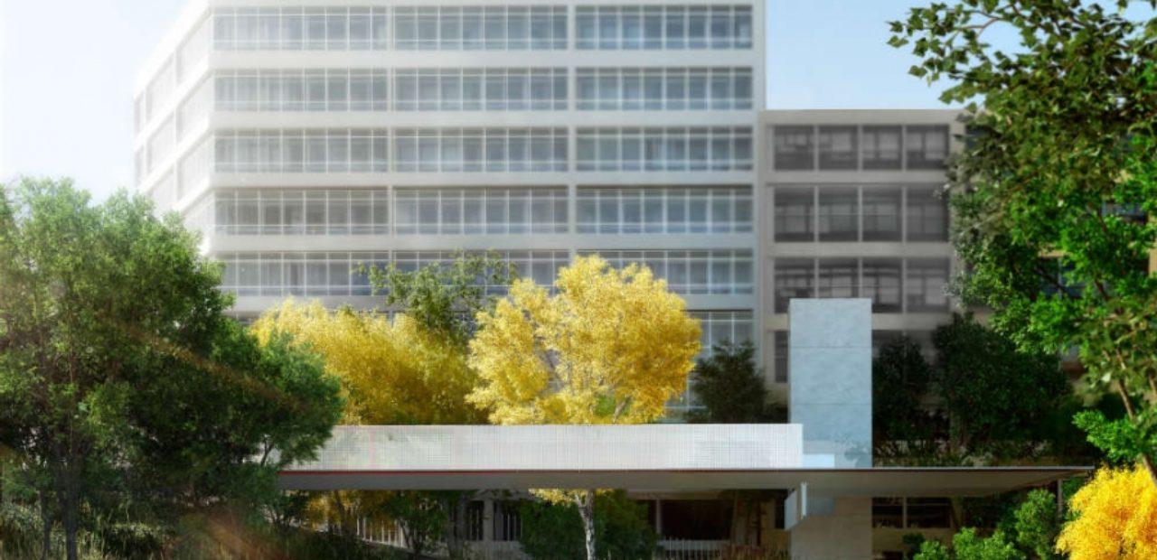 Ascensor panorámico que se pretende instalar nun parque de Vigo / vigoe.es