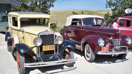 Queres ver coches de época?