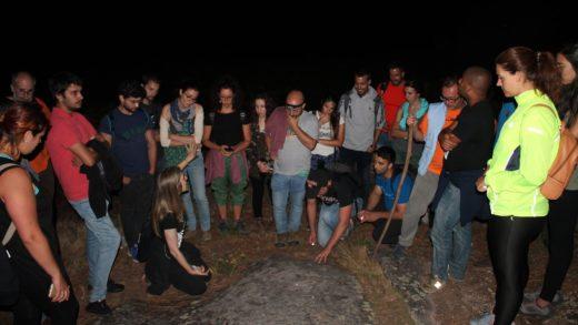 Mozos de diferentes países de Europa coñecen o espazo natural e arqueolóxico dos Sete Camiños