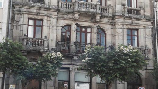Rehabilitan o Casino de Noia, un fermoso edificio modernista, como centro de visitantes