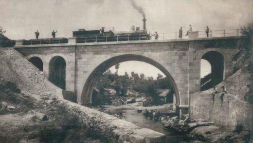 Como era a liña férrea do Douro e Miño no século XIX