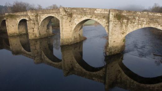 Pontevea, outra das grandes pontes históricas de Galicia xa é BIC