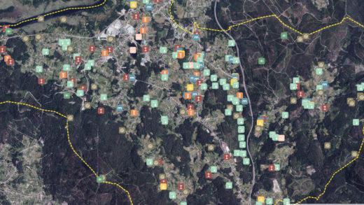 Unha asociación de Valga crea o primeiro mapa de todo o patrimonio dun concello en Galicia