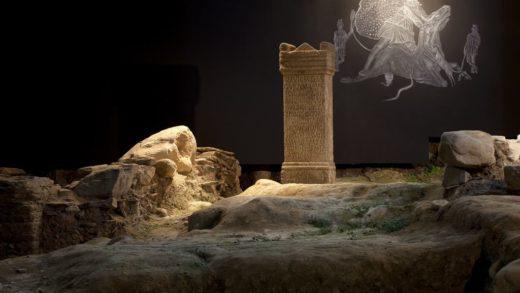 Lugo porá en valor un sumidoiro romano medio esquencido e atopado hai dez anos