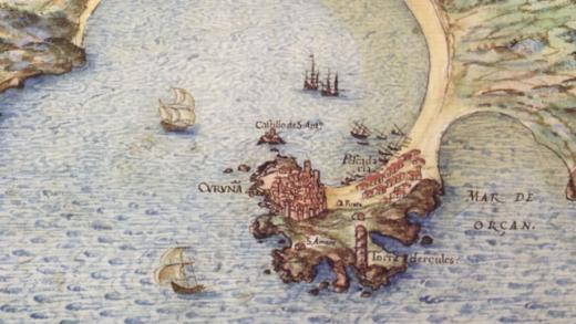 A Coruña recupera a que en tempos foi a súa maior porta ó mar