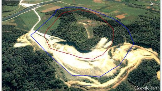O castro que case desaparece pola actividade dunha mina tiña seis informes a favor por parte da Xunta