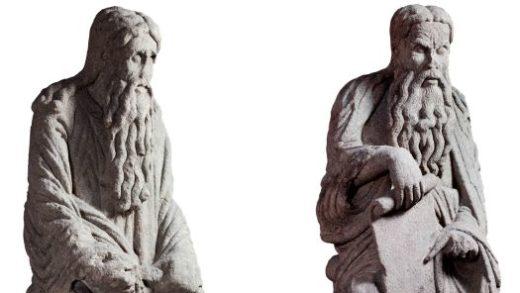 Os Franco afirman ter mercado as esculturas do Mestre Mateo nun anticuario