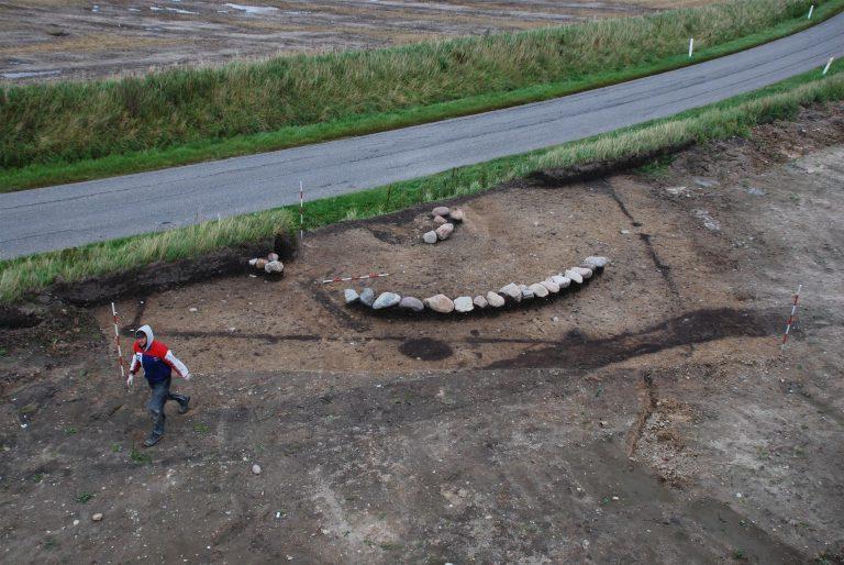Lugar da suposta tumba de Ulf, o Galego, em Dinamarca / National Geographic