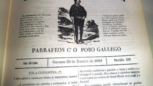 Portada de O Tío Marcos d'A Portela   Día dos Medios en Galego