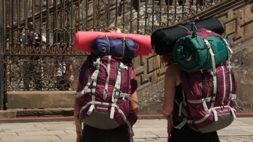 O turismo afoga os barrios históricos de Compostela