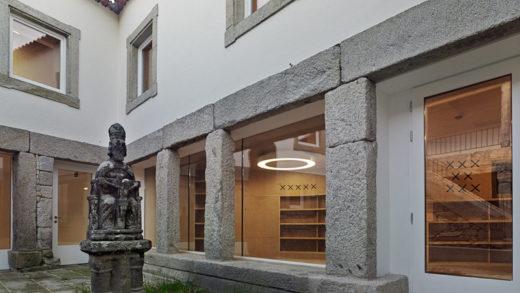 Rehabilitan o vello hospital do Santo Espírito de Baiona para biblioteca e arquivo