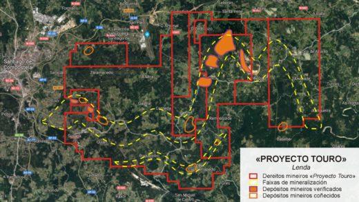 A Xunta aproba unha orde en pleno agosto para restrinxir a información sobre as afeccións dos proxectos mineiros no patrimonio